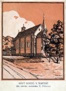 Kostel v návrhu V. Fišera