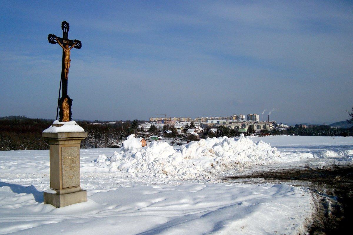 Boží muka, leden 2010