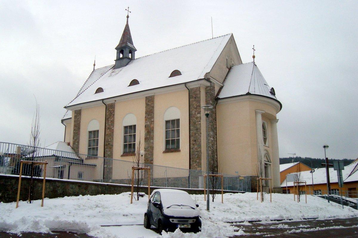 Kostel sv. Bartoloměje, leden 2015
