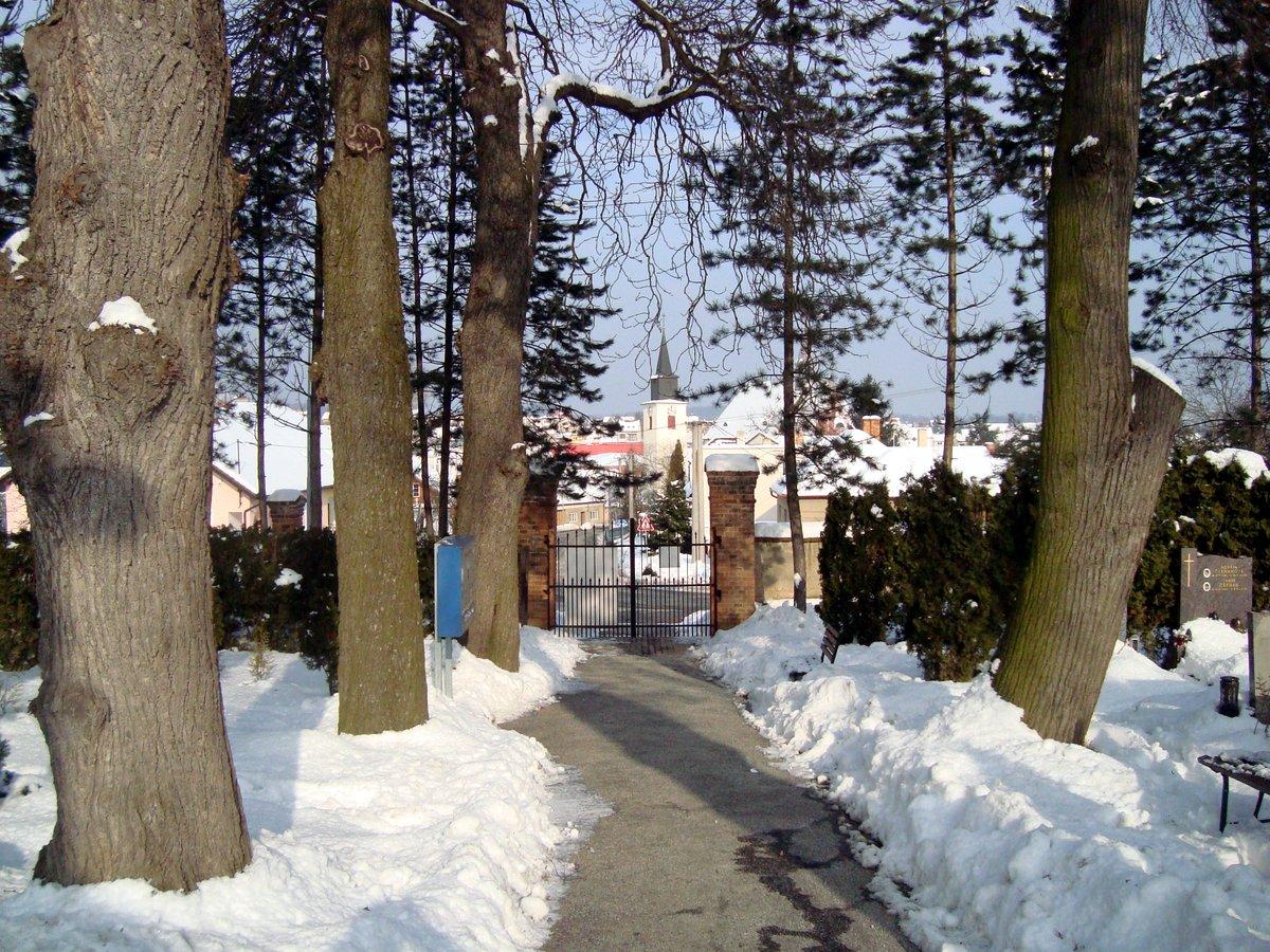 Kostel sv. Bartoloměje, leden 2010