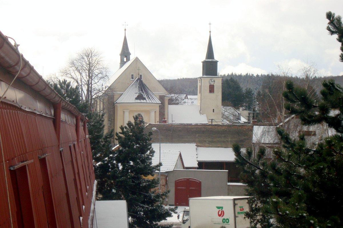 Kostel sv. Bartoloměje, únor 2012