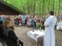 Mše sv. u Helenčiny studánky 26.7.2017