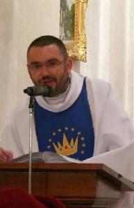 P. Jiří Bůžek slouží novokněžskou mši svatou