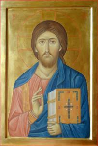 Kristus Pantokrator, (c) 2007 ikonopiska MgA Iveta Kadlecová