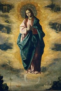 Francisco de Zurbarán (1598–1664): Neposkvrněné početí