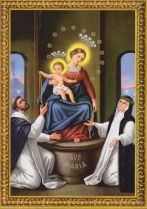Obraz Panny Marie z Pompejí
