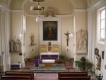 Presbytář z let 1997 - 2008