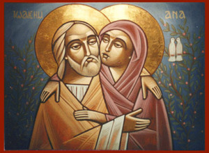 Sv. Jáchym a sv. Anna